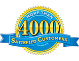 4000 Satisfied Customers