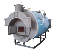 Solid Fuel Fired, Horizontal, Shell Type Hot Water Generators