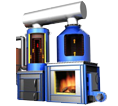 4 Pass Solid Fuel Fired Thermic Fluid Heaters