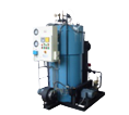 Oil-Gas Fired, 3 Pass, Water Tube Coil Type Steam Boilers
